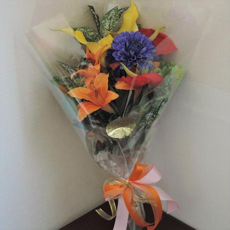 お供え用仏花 花器に合わせて作成します
