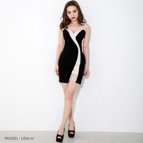 ノースリーブ ミニタイトドレス(s20005)