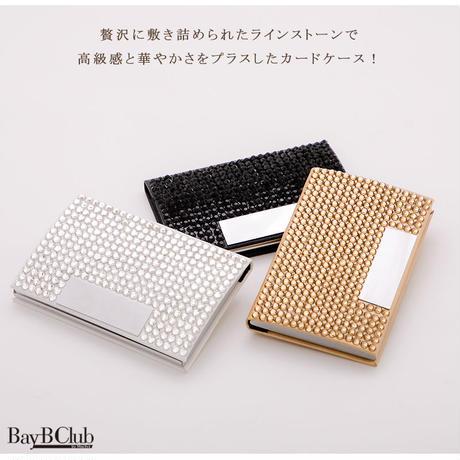 クリアビジューカードケース(h017)