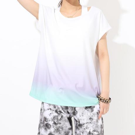 【UVカットトップスセット】ラッシュガード[91230 ] × ラッシュTシャツ[201141] 2点セット