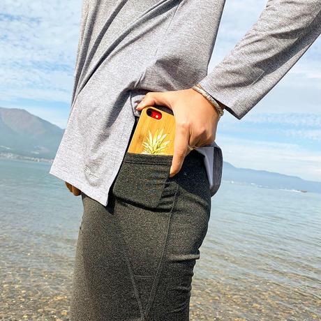 【快適ボトムセット】サーフパンツ[91101]+ポケット付き 裏起毛 レギンス[82211 ] 2点セット