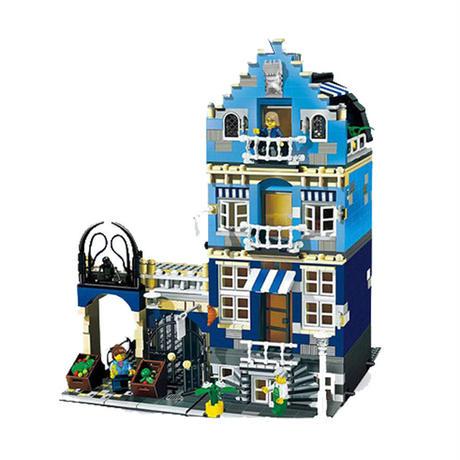【送料無料!】レゴ ( LEGO ) 互換品 ファクトリーマーケットストリート 10190 ( 海外製品 )レゴブロック 互換 【新品】