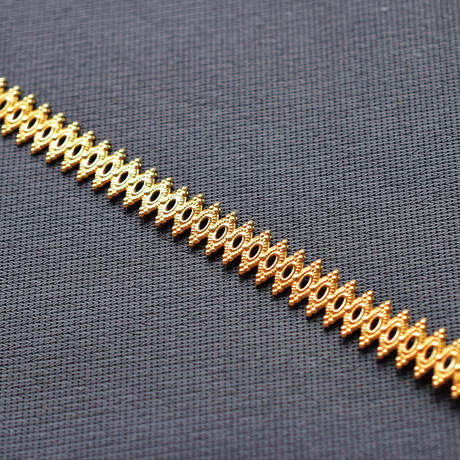 K14/20GF ベゼルワイヤー 巾6.7mm 厚0.7mm 10㎝ ゴールドフィルド