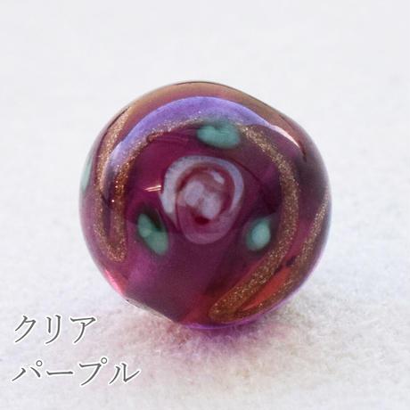 チェコ製 ガラスビーズルキノ【クリア】 10mm 5個