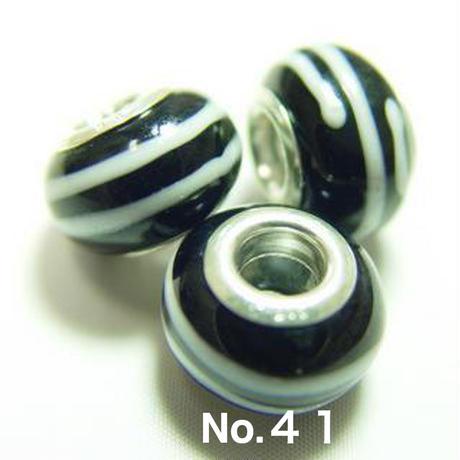 silver925 リムビッグホールビーズ 1個