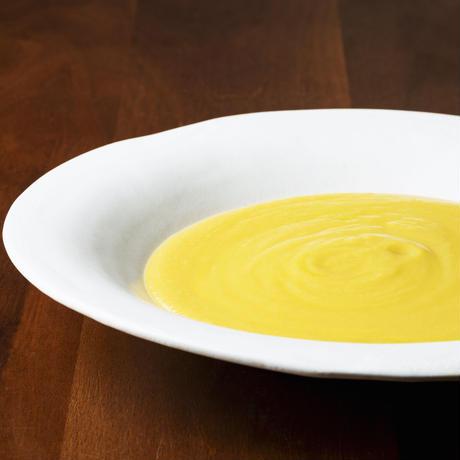 ひよこ豆と玉葱のスープ 〜フムススタイル〜