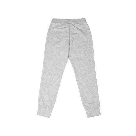 Lack of common sense. Horizontal  sweat pants【Gray】
