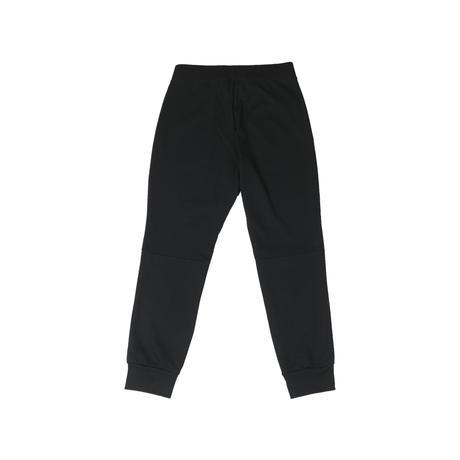 Lack of common sense. Horizontal  sweat pants【Black】