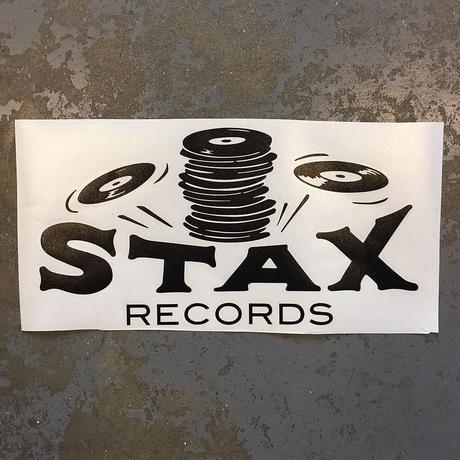 スタックス レコード・スタックス オブ ワックス・クラシック ロゴ ステッカー (ブラック)