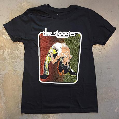 イギー ポップ&ザ・ストゥージズ・バック ベンド パフォーミング 1972 T-シャツ