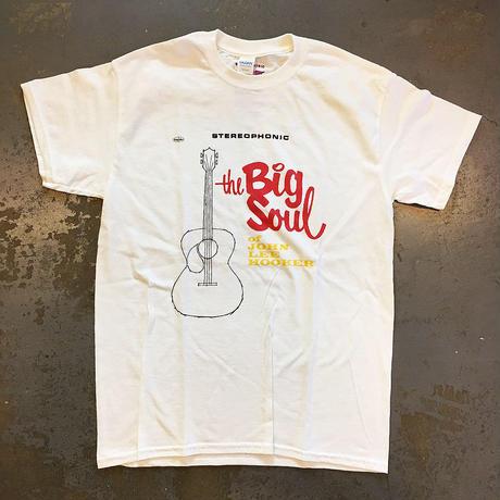 ジョン・リー・フッカー・ビッグ ソウル オブ ジョン・リー・フッカー 1963 Tシャツ