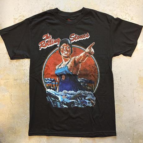 ザ ローリング ストーンズ・サム ガールズ 1978 北米ツアー ヴィンテージ スタイル T-シャツ