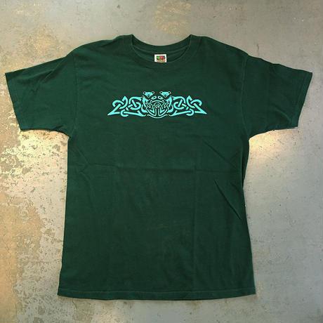 グレイトフル デッド・スリップノット ベアーズ Tシャツ フォレストグリーン (U.S.A. 中古衣料品)