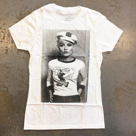 デビー ハリー・ポパイ・ザ・セーラーマン @ニューヨーク 1978 女性用T-シャツ