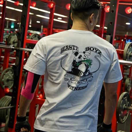 Panda Tシャツ カラー:ホワイト  品番:5009