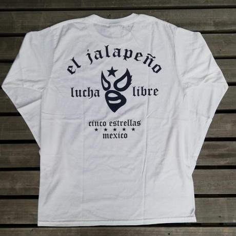 マスク2 ロングスリーブTシャツ ホワイト