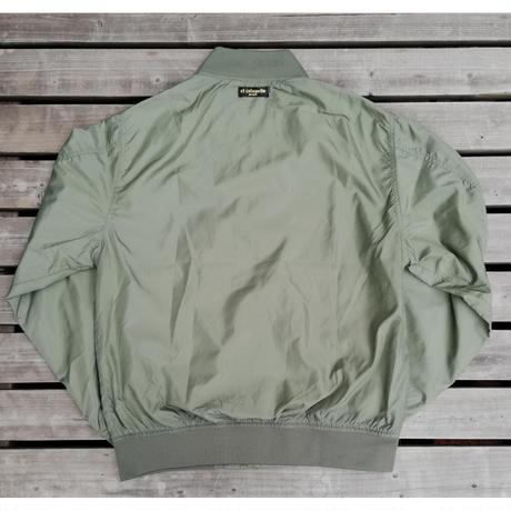 エルハラペーニョ ワッペン 刺繍MA1ジャケット オリーブ