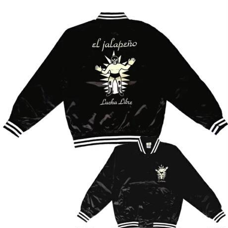 ルチャドール ジャケット ブラック ルチャリブレ