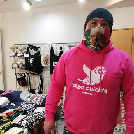 MAZADA選手コラボ スウェットパーカー ネイビー