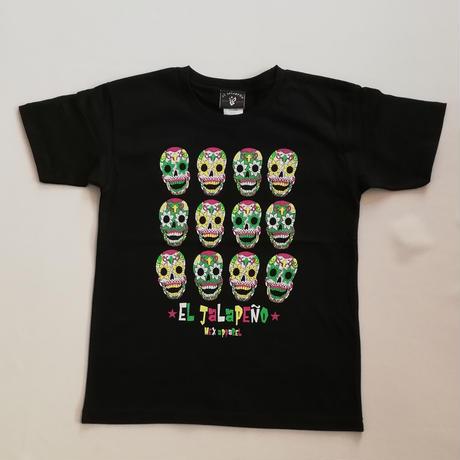 キッズ ディア デ ロス ムエルトス1 Tシャツ ブラック