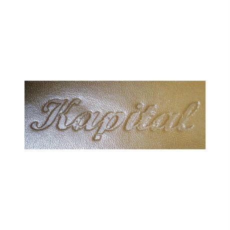 KAPITAL(キャピタル) 編み上げブーツ