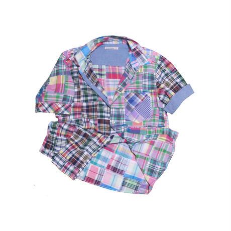 GAIJIN MADE(ガイジンメイド) パッチワークシャツ⑤