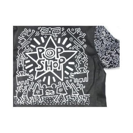 Keith Haring/BROWNY/キースへリング/ブラウニー ) ダブルライダース