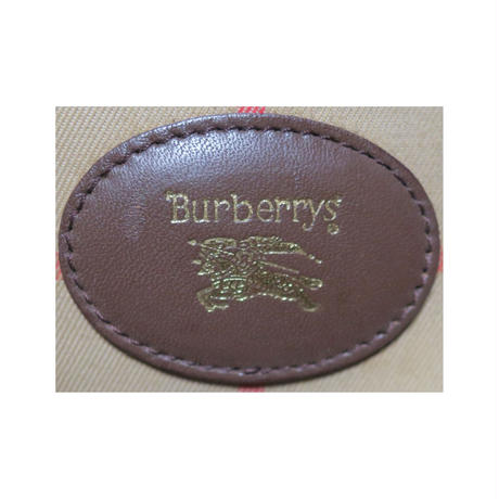 『レディース』80s Burberrys(バーバリー) ノバチェック柄バッグ