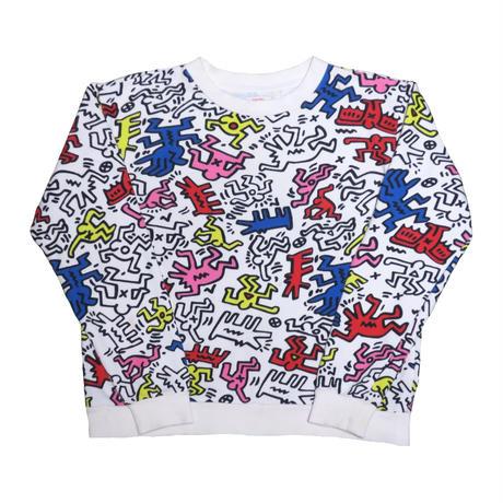 『レディース』Keith Haring / FOREVER 21(キースへリング / フォーエバー 21 ) スウェット