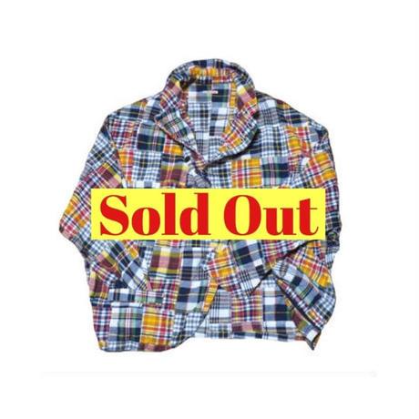 KAPITAL(キャピタル) パッチワークドルマンシャツジャケット
