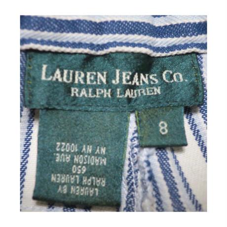 『レディース』LAUREN JEANS CO. Ralph Lauren(ローレンジーンズ  ラルフローレン) ストライプパンツ