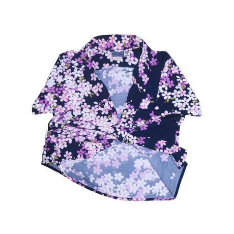 BLUE BLUE(ブルーブルー) 花柄シャツ