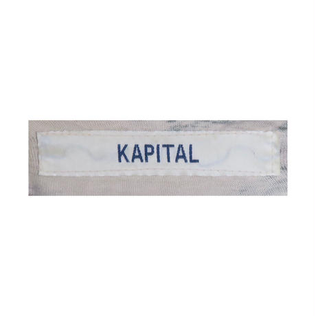 KAPITAL(キャピタル) カモフラージュカーディガン