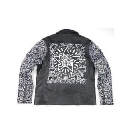 Keith Haring/BROWNY(キースへリング/ブラウニー) ダブルライダース②