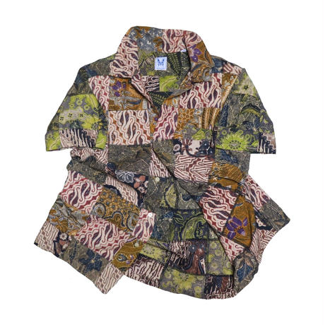 GAIJIN MADE(ガイジンメイド) パッチワーク半袖シャツ②