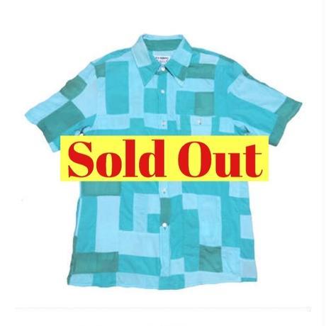 HOLLYWOOD RANCH MARKET(ハリウッドランチマーケット) パッチワーク半袖シャツ