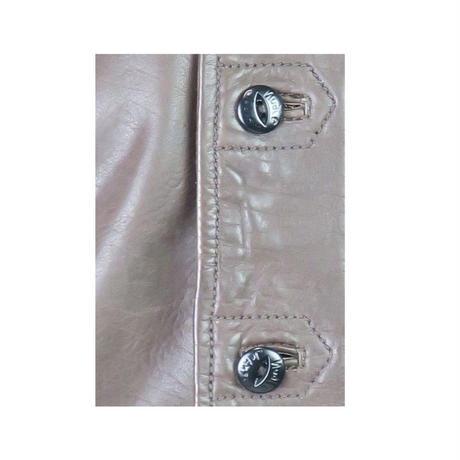 Nudie Jeans(ヌーディージーンズ) レザーシャツ