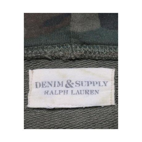 DENIM&SUPPLY Ralph Lauren(デニムアンドサプライ ラルフローレン) ユーズド加工カモフラージュ柄パーカー