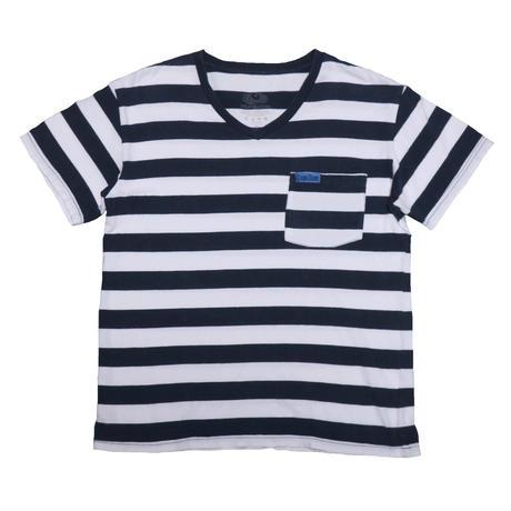 BLUE BLUE/FRUIT OF THE LOOM(ブルーブルー/フルーツオブザルーム) ボーダーTシャツ