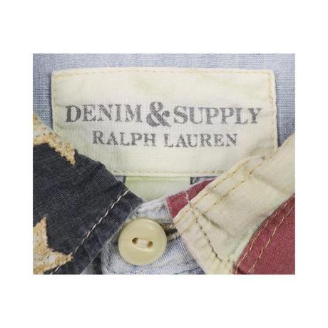 DENIM&SUPPLY Ralph Lauren(デニムアンドサプライ ラルフローレン) ユーズド加工シャンブレーシャツ