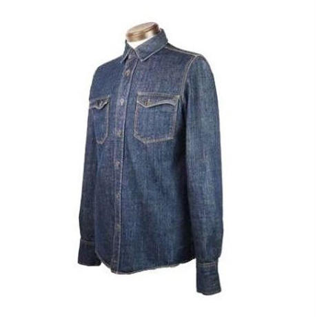 Nudie Jeans(ヌーディージーンズ) リジットデニムシャツ