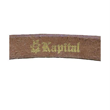 『レディース』KAPITAL(キャピタル) レザーベルト