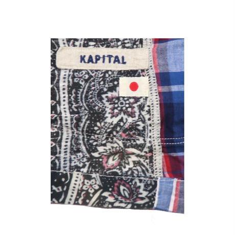 KAPITAL(キャピタル) 総柄ジャケット