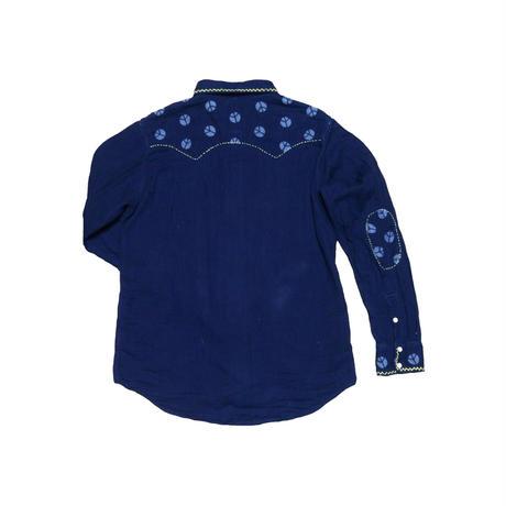 GAIJIN MADE(ガイジンメイド) 刺繍ウエスタンシャツ
