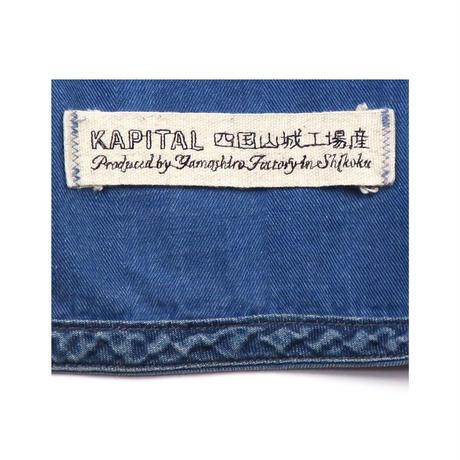 KAPITAL(キャピタル) ダメージ加工カバーオール