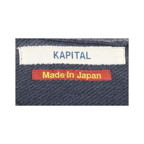 KAPITAL(キャピタル) グリズリーペンキロゴスウェット