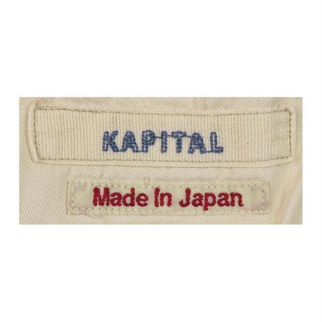 KAPITAL(キャピタル) ダメージ加工クロップドデニムパンツ