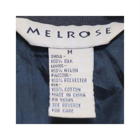 MELROSE(メルローズ) シルクブルゾン
