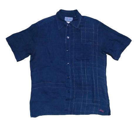 BLUE BLUE(ブルーブルー) 刺繍シャツ