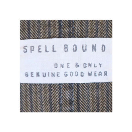 SPELL BOUND(スペルバウンド) ストライプステンカラーコート